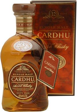 Cardhu Scotch Single Malt 12 Year